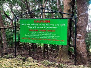 Caution notice